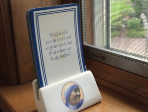 mother teresa cards